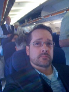Stranger on Airplane airline passenger - davitydave - 3362787991_48b494a46e_o