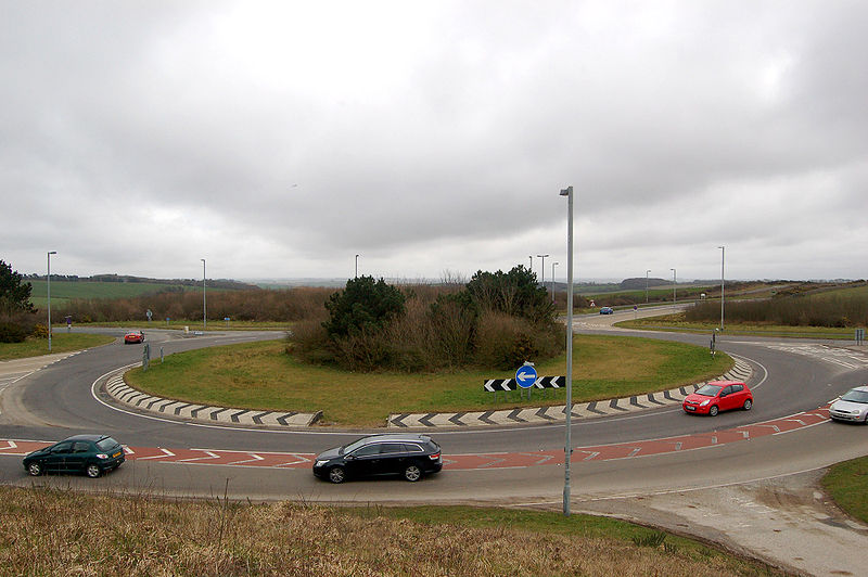 the British roundabout