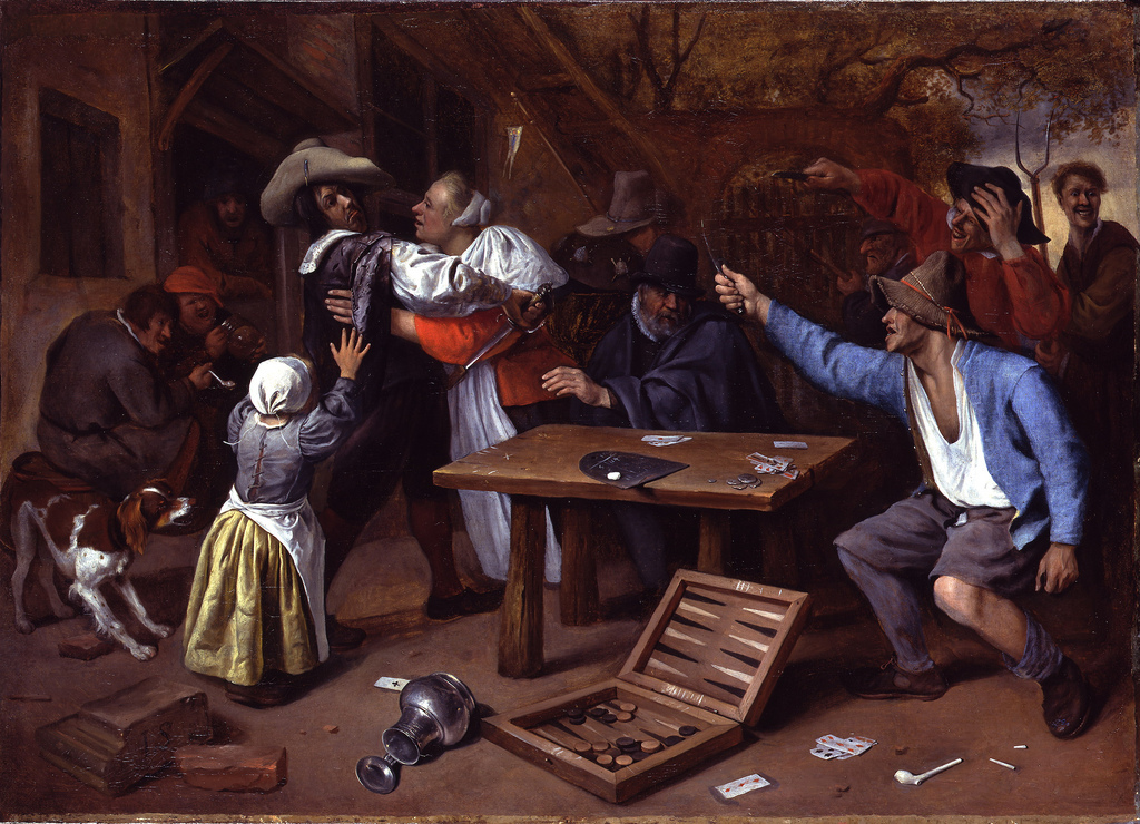 Argument Over a Card Game, c.1665 5947376126_ceff512e1b_b