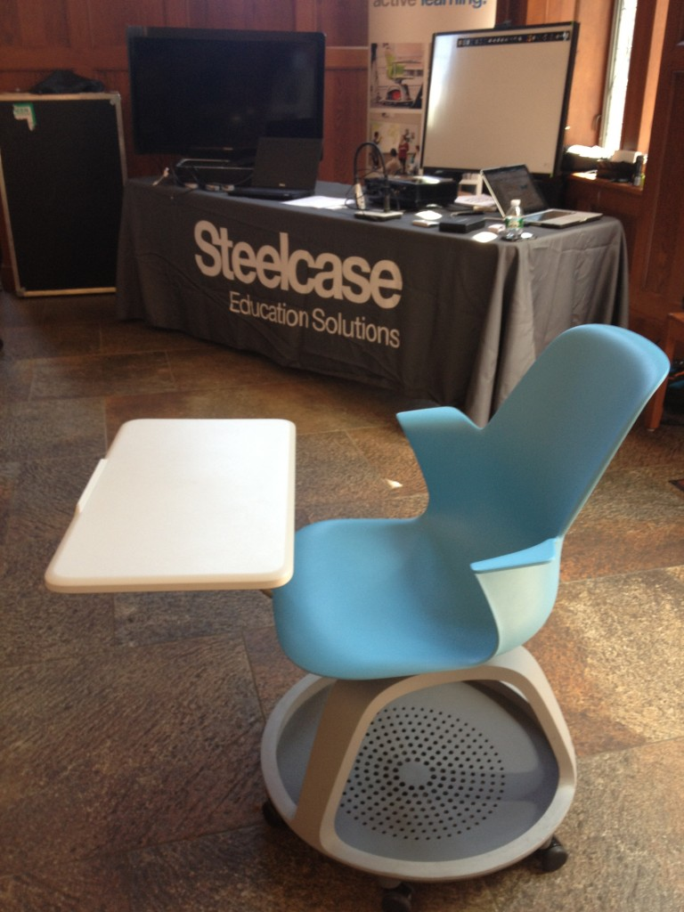 Better conference chairs Node chair by Steelcase