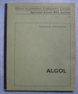 Elliott 803 Algol