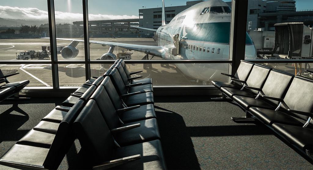 Empty terminal 7771062866_da0f7a209f_b