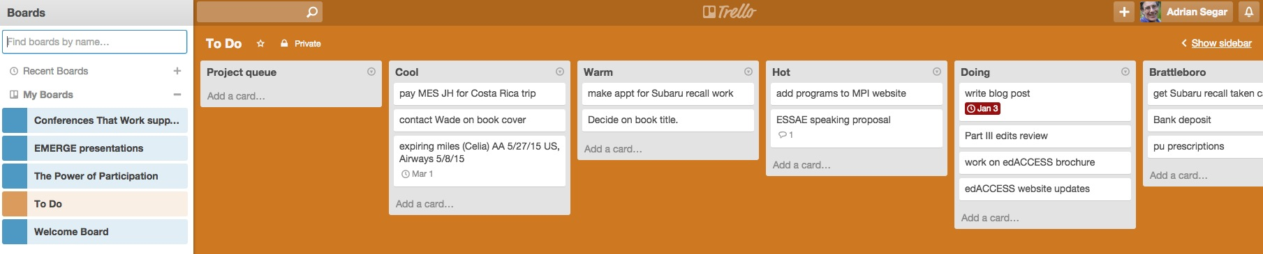 Trello To Do