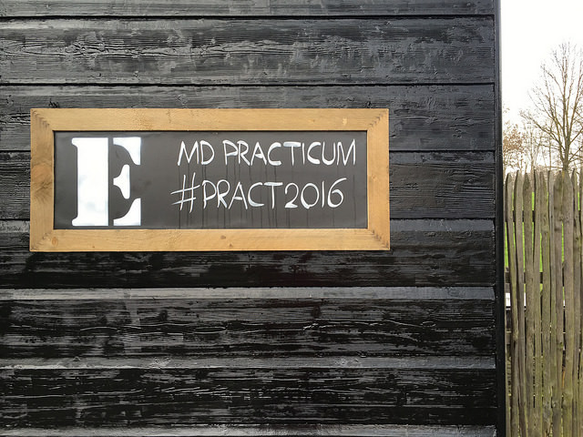 MD Practicum sign