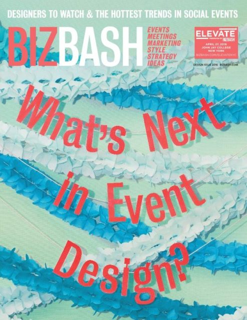 BizBash Design Issue cover