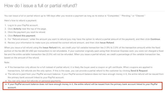 Avoid this PayPal refund gotcha! : Conferences That Work