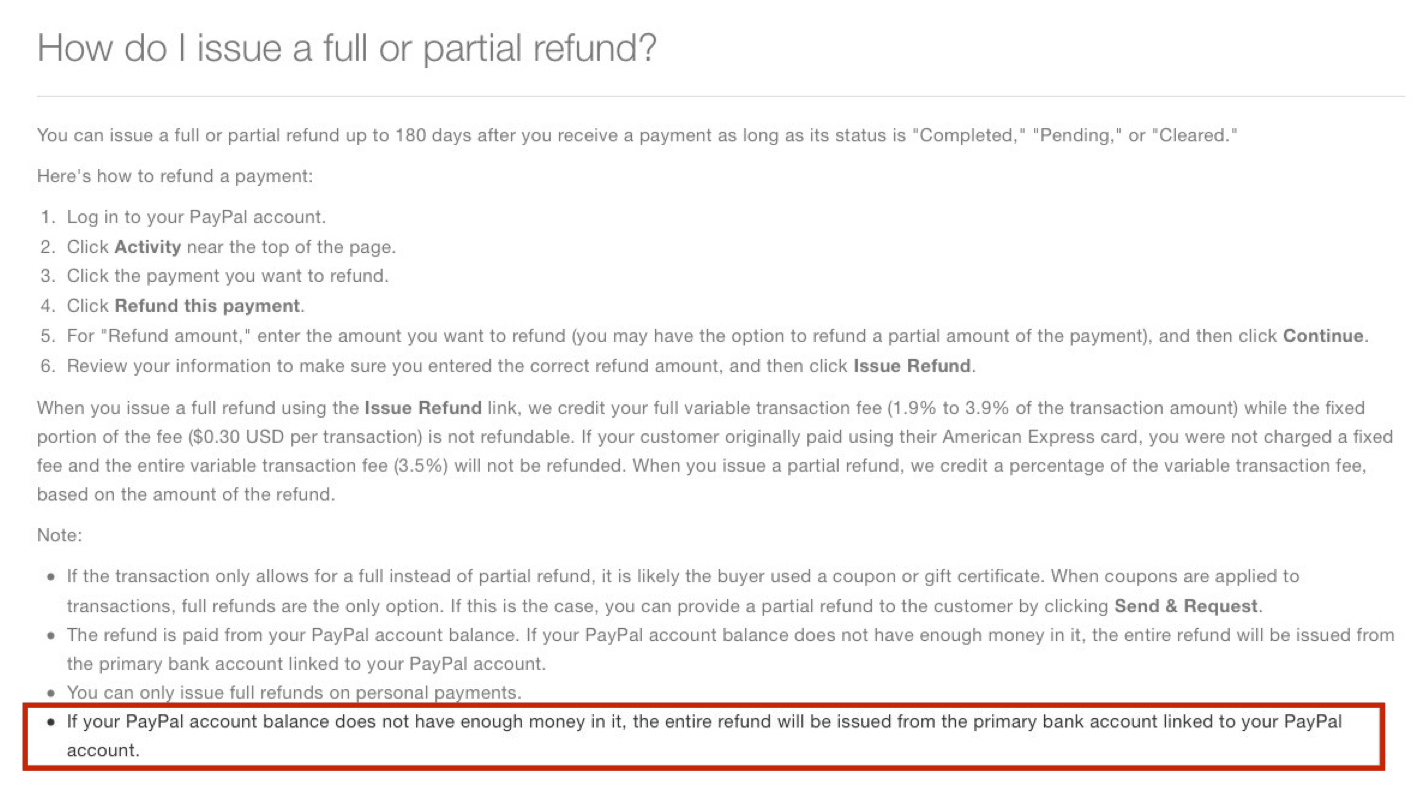 Avoid This Paypal Refund Gotcha Conferences That Work