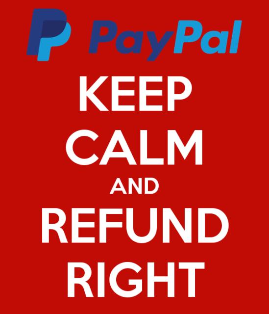 PayPal refund gotcha