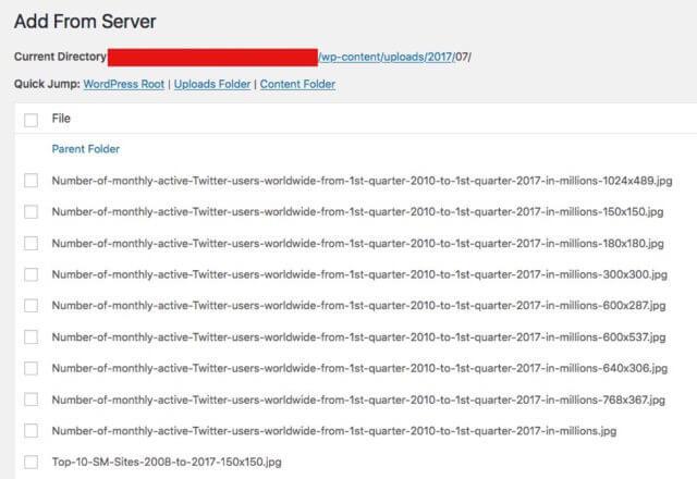 solve HTTP error uploading WordPress