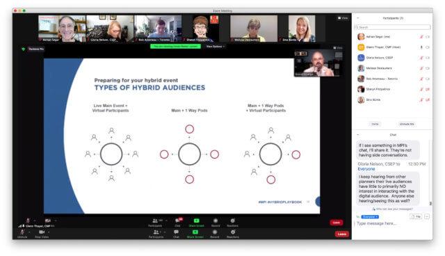hub spoke meeting